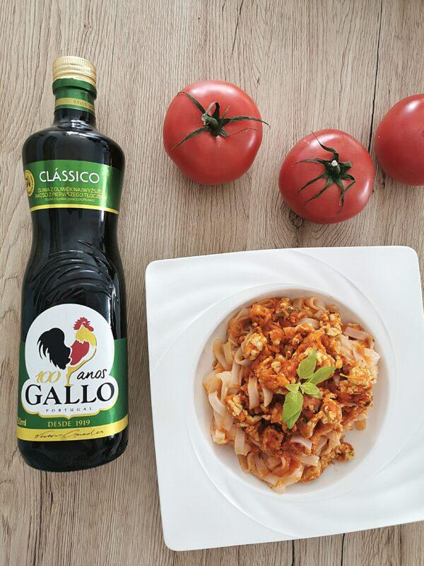 Spaghetti bolognese z makaronem ryżowym
