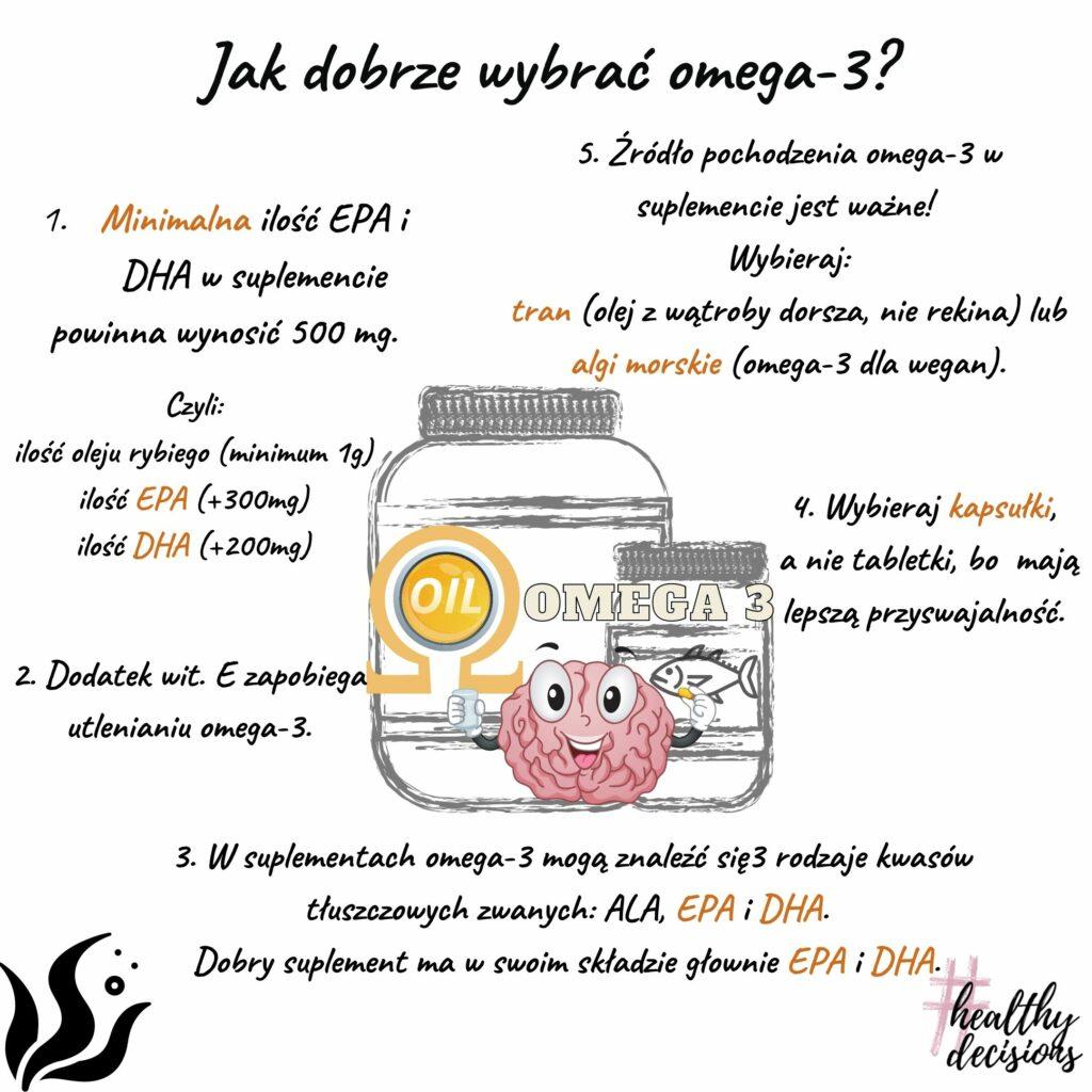 Jak dobrze wybrać omega-3? Tłuszcz