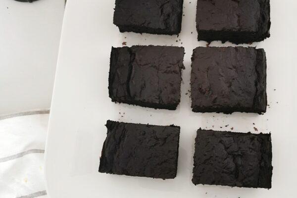 Brownie z cukini