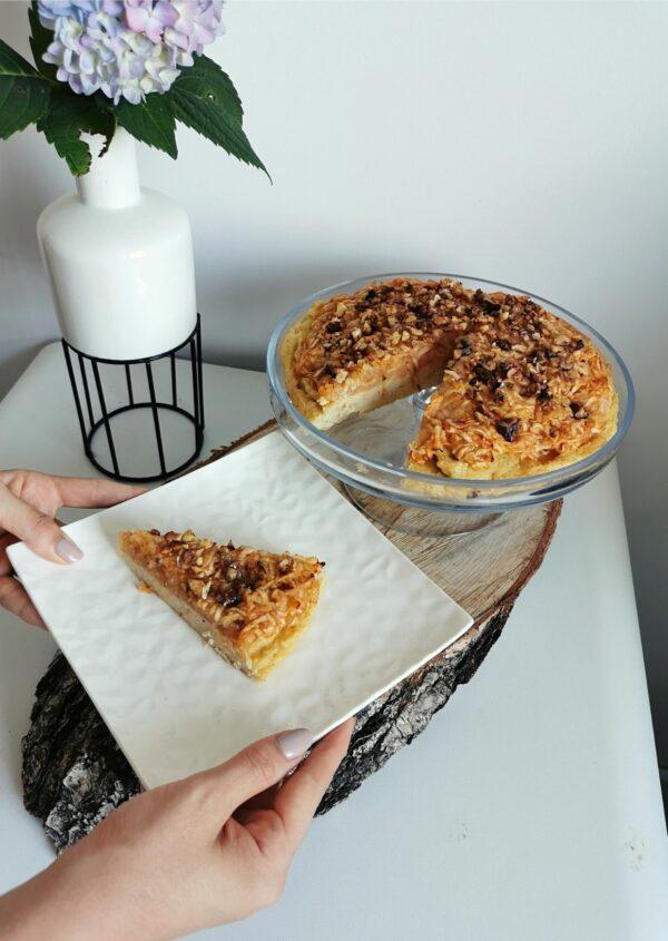 Szarlotka z kaszy jaglanej – zdrowy i pyszny deser!