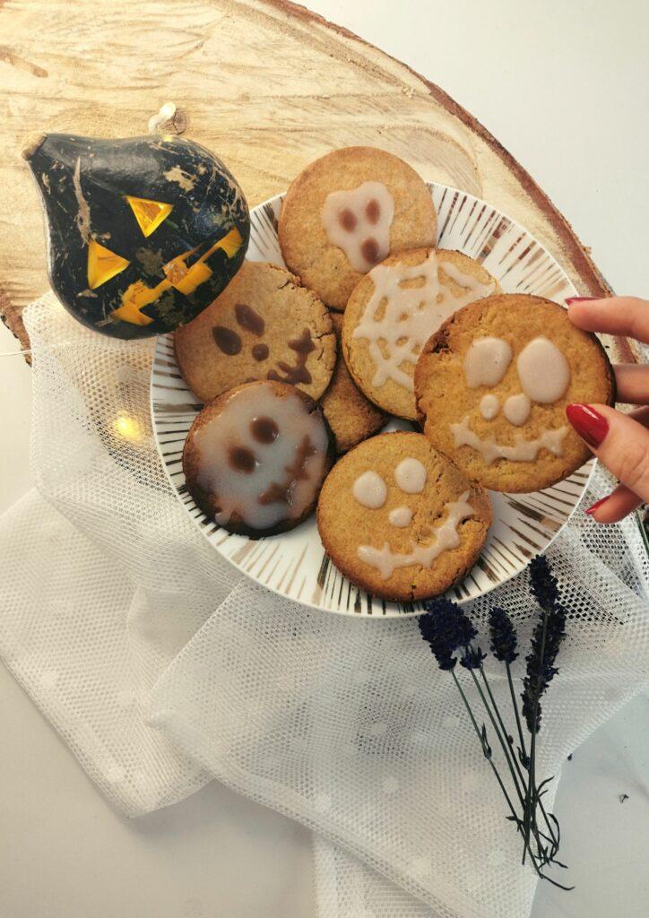 Kruche ciasteczka Halloween