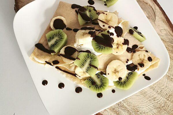 Naleśniki orkiszowe na słodko lub na wytrawnie