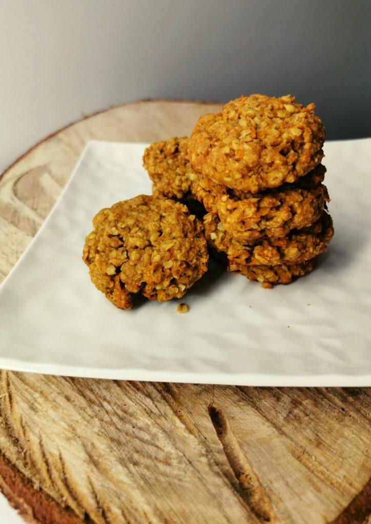 ciasteczka owsiano marchewkowe