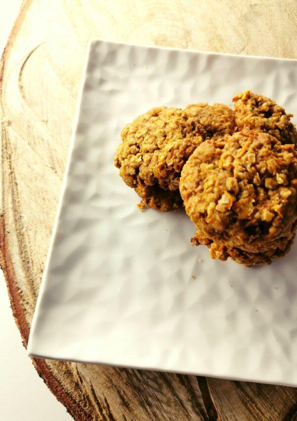 Ciasteczka owsiane z marchewką