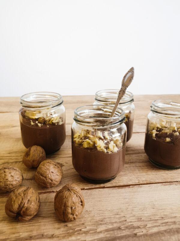 Mus czekoladowo-orzechowy na bazie fasoli