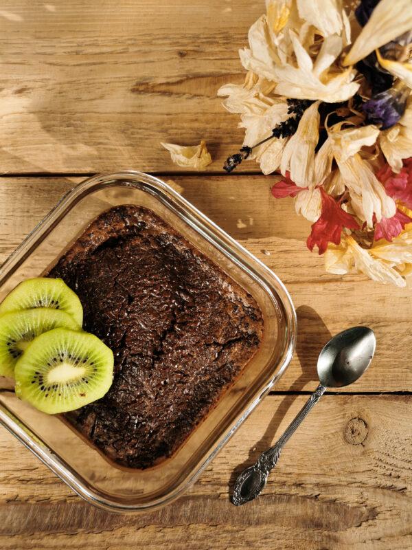 Pieczona czekoladowa owsianka do lunch boxa!