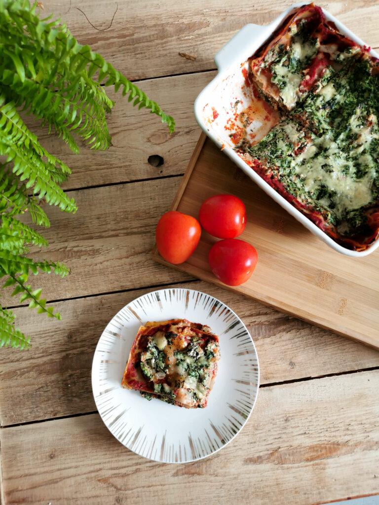 lasagne ze szpinakiem i ricottą pomysł na obiad!