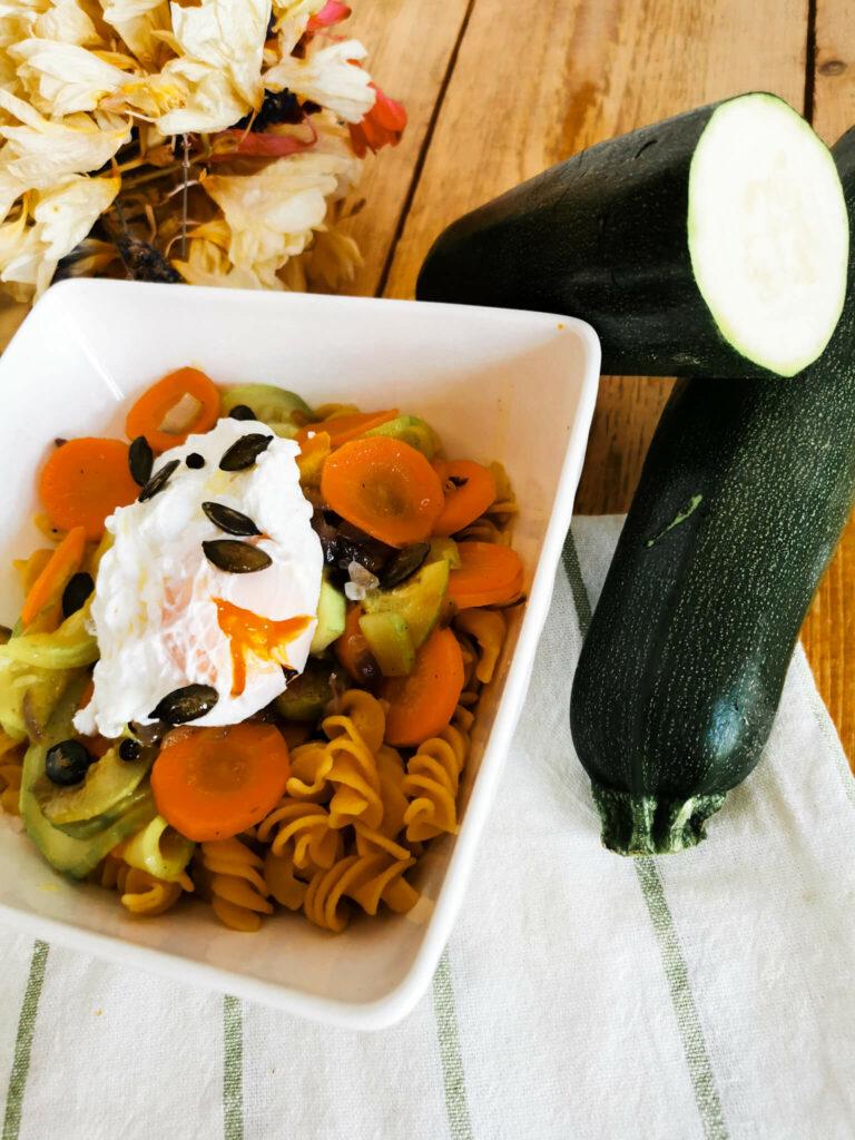 makaron z soczewicy przepis na obiad