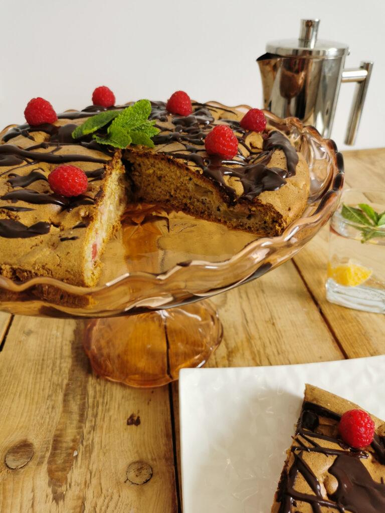 ciasto rabarbarowe przepis niskokaloryczny