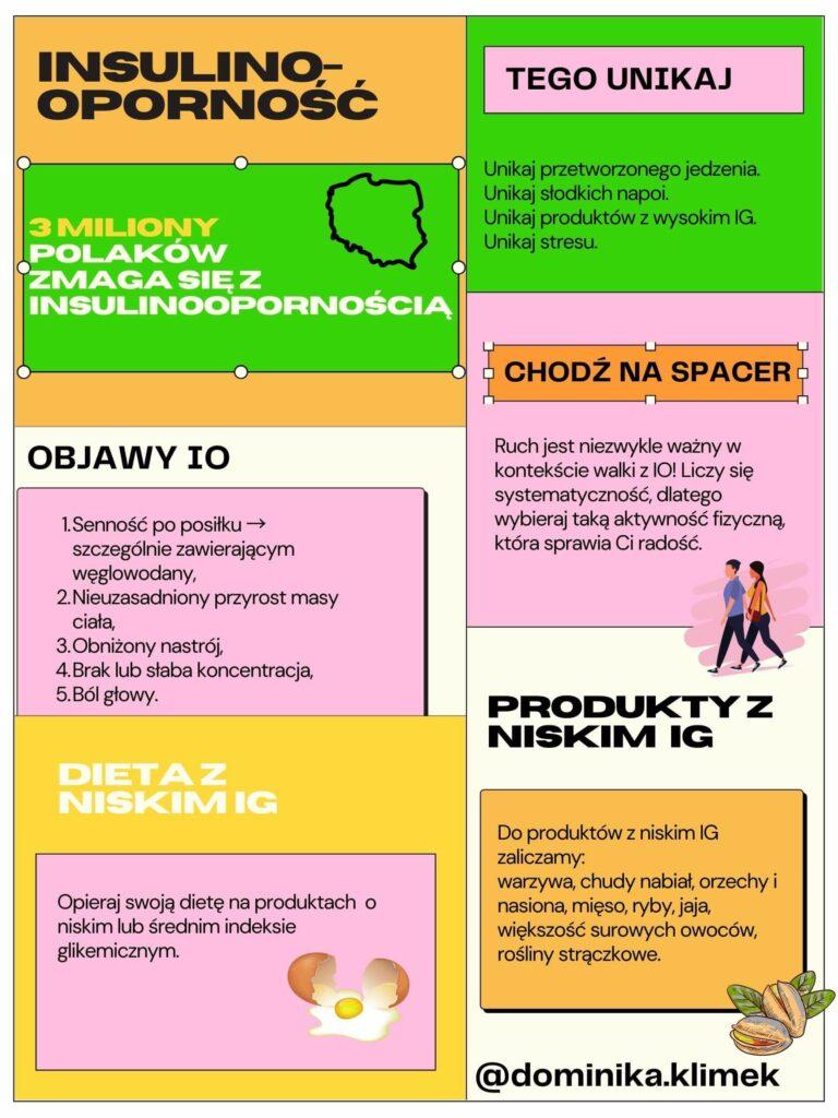 insulinooporność - objawy, przyczyny, dieta z niskim indeksem glikemicznym,