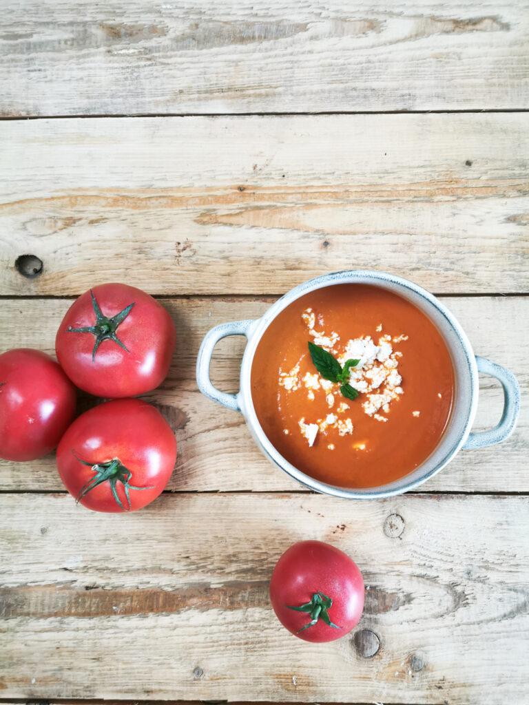 krem z pomidorów z passaty przepis