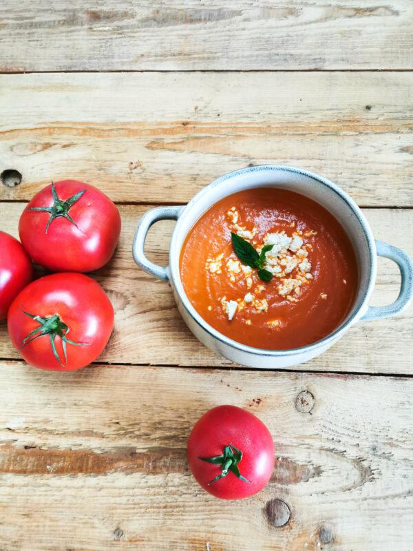 Krem z pomidorów / niski indeks i ładunek glikemiczny!