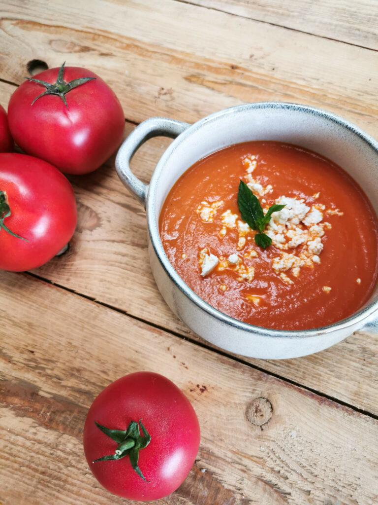 krem z pomidorów z passaty