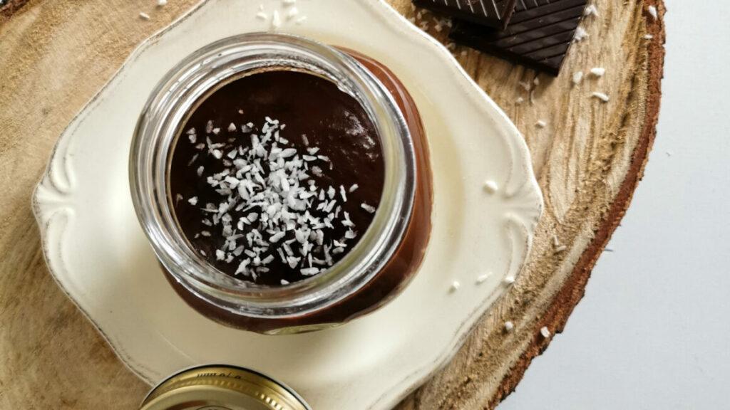 zamienniki cukru - deser słodzony stewią